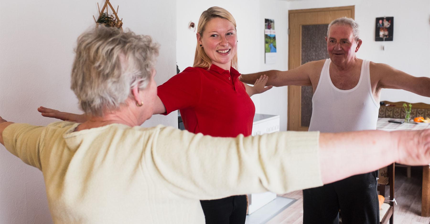 Hauskrankenpflege Dori Bewegungsübungen